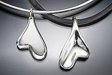 Heart Pendant by Lisa Slovis (Silver Necklace)