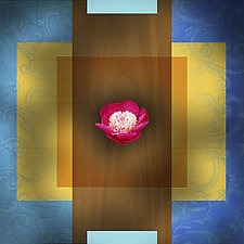 Baroque Flower - Peony by Robin Krauss (Giclée Print)