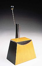 Pendulum Box by Emi Ozawa (Sculptural Wood Box)