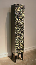 Lava Cabinet by Kevin Irvin (Wood Cabinet)
