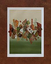 Lean On Me 26 by Marlene Sanaye Yamada (Acrylic Painting)