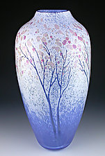 New Spring by Daniel Scogna (Art Glass Vase)