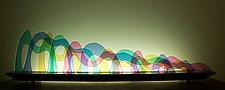 Seuss by Bernie Huebner and Lucie Boucher (Art Glass Sculpture)