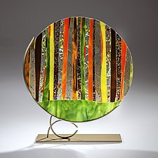 Spring by Varda Avnisan (Art Glass Sculpture)