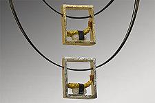 Tempura Shrimp Pendant by Carolyn Tillie (Gashapon Pendant)