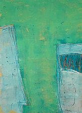 Green Tea by Aryana Londir (Oil Painting)