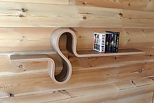 S Shelf by Kino Guerin (Wood Shelf)