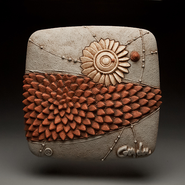 Fresh Move By Christopher Gryder Ceramic Wall Sculpture