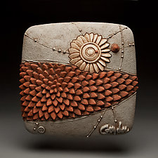 Fresh Move by Christopher Gryder (Ceramic Wall Sculpture)
