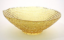 Epidavrous Bowl by Hudson Beach Glass (Art Glass Bowl)