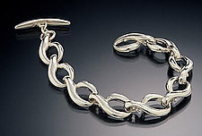 The Q Bracelet by Kathleen Lynagh (Silver Bracelet)