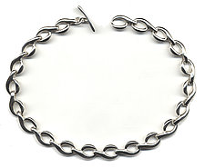 The Q Necklace by Kathleen Lynagh (Silver Necklace)