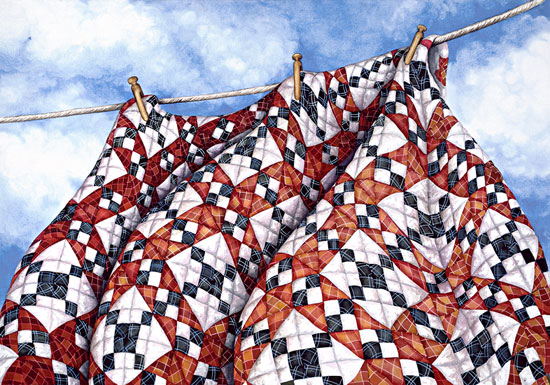Freedom Quilt Giclee