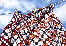 Freedom Quilt Giclee by Helen Klebesadel (Giclée Print)