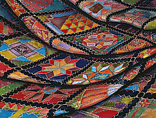 Made Crazy Quilt by Helen Klebesadel (Giclee Print)