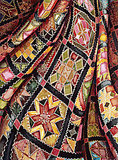 Victorian Crazy Quilt by Helen Klebesadel (Giclee Print)