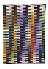Light-Emitting Fabric by Kent Williams (Art Quilt)