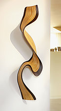 Wallwave by Kerry Vesper (Wood Wall Sculpture)