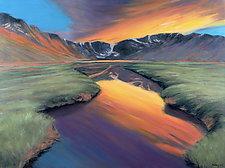 Summit Lake by Jan Fordyce (Oil Painting)