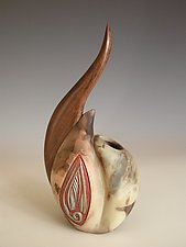 Sweet Pea by Jan Jacque (Ceramic Sculpture)