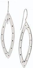 Leaf Earrings by Jodi Brownstein (Silver Earrings)