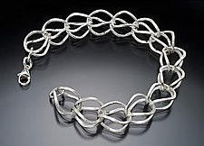Hen Bracelet by Ken Loeber and Dona Look (Silver Bracelet)