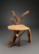Part Of The Landscape Chair by Aaron Laux (Wood Chair)