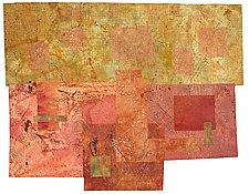 Moss Gold by Catherine Kleeman (Fiber Quilt)