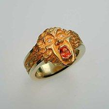 Gargoyle Series - Bomarzo by Kim Eric Lilot (Gold & Stone Ring)