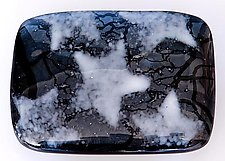 Star Glass Belt Buckle by Renato Foti (Jewelry Belts/Buckles)
