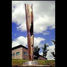 Vortex by Molly Mason (Metal Sculpture)