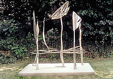 Clepsydra by Molly Mason (Metal Sculpture)