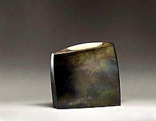 Bronze Envelope by Jeffrey Brown (Metal Vessel)