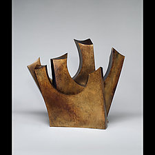 Over and Out by Jeffrey Brown (Metal Sculpture)