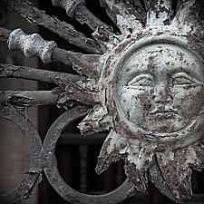 Iron Sun by Steven Keller (Color Photograph)