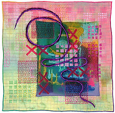 Directions #2 by Michele Hardy (Fiber Wall Hanging)