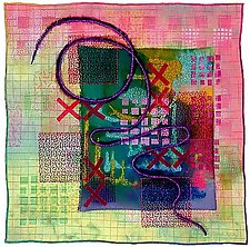 Directions #2 by Michele Hardy (Fiber Wall Art)