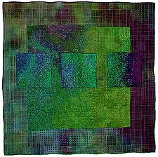Colorfields: Emerald by Michele Hardy (Fiber Quilts)
