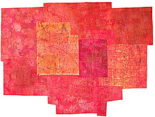 Red Rover by Catherine Kleeman (Fiber Wall Art)