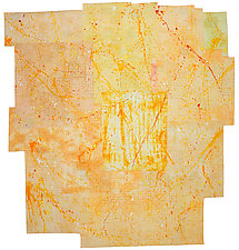 Yellow Brick Road by Catherine Kleeman (Fiber Wall Art)