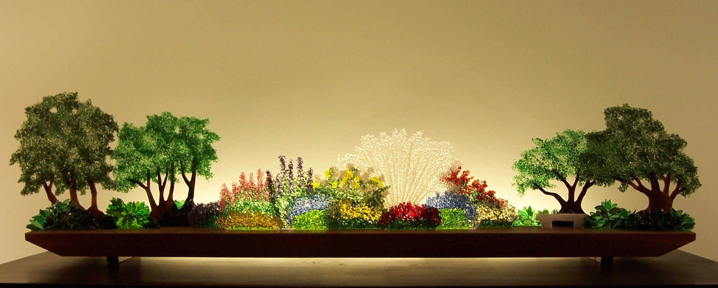 Artful Home Perennial Hush By Bernie Huebner And Lucie Boucher Art Glass