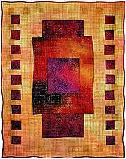 Colorfields: Ametrine by Michele Hardy (Fiber Wall Art)