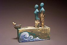 There are Strengths in Our Differences by Cathy Broski (Ceramic Sculpture)