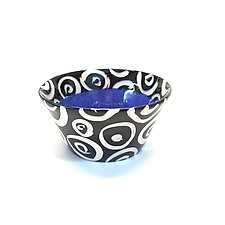 Small Flared Bowl in Blue by Matthew A. Yanchuk (Ceramic Bowl)