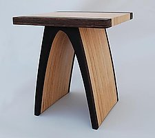 """""""End Table"""" by Kerry Vesper (Wood Side Table)"""
