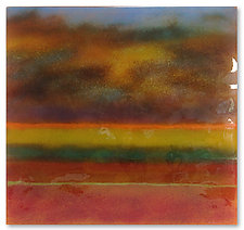 Desert Mist by Anne Nye (Art Glass Wall Art)