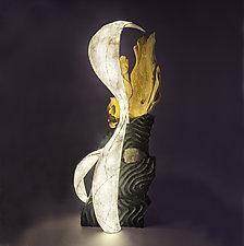 Fractured by Aaron Laux (Wood Floor Lamp)