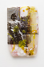 New Ride by Alice Benvie Gebhart (Art Glass Wall Art)