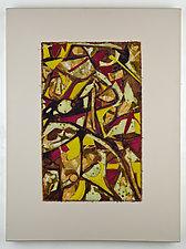 Tangled Web #5 by Ayn Hanna (Fiber Wall Art)