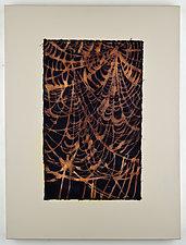 Tangled Web #7 by Ayn Hanna (Fiber Wall Art)